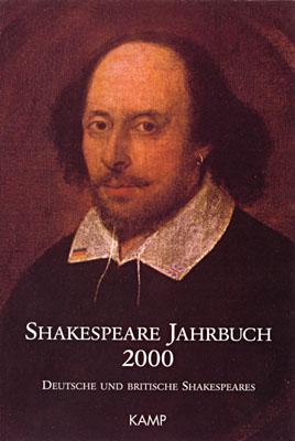 Umschlagbild auf der Basis des Chandos-Porträts von Shakespeare aus der ersten Hälfte des 17. Jahrhunderts (National Portrait Gallery, London)
